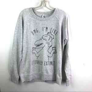 5/$25 Dinosaur Sweatshirt